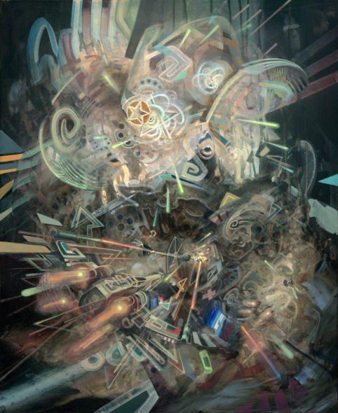 dennis konstantin bax, Hyperpop, visionary art, dmt, fantasy, abstract, art, psychedelic, surealism, surrealismus, prints, schamanismus, quantum realism, gequantelter realismus, dali, cyber, berühmter deutscher maler, famous german artist, star wars, ayahuasca art