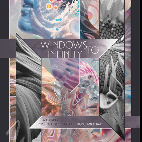 Windows to Infinity Konstantin Bax Psychedelic Art Book