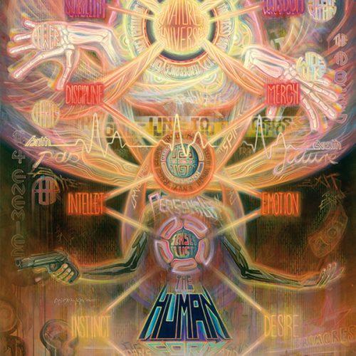 Visionary psychedelic art print ayahuasca psychedelische kunst kunstdruck