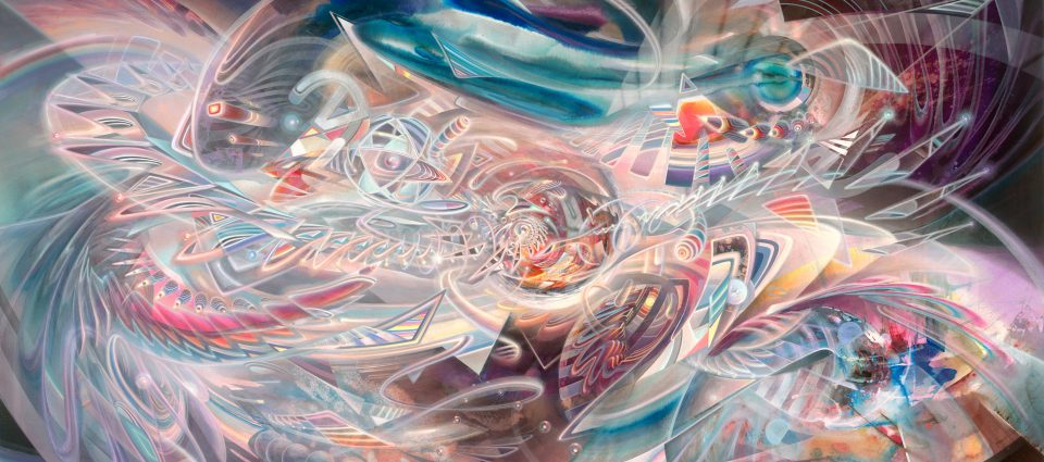 Infinitus Dennis Konstantin BaxVisionary art psychedelic