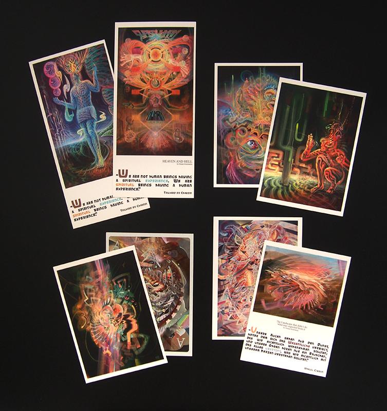 postcard set dennis konstantin bax