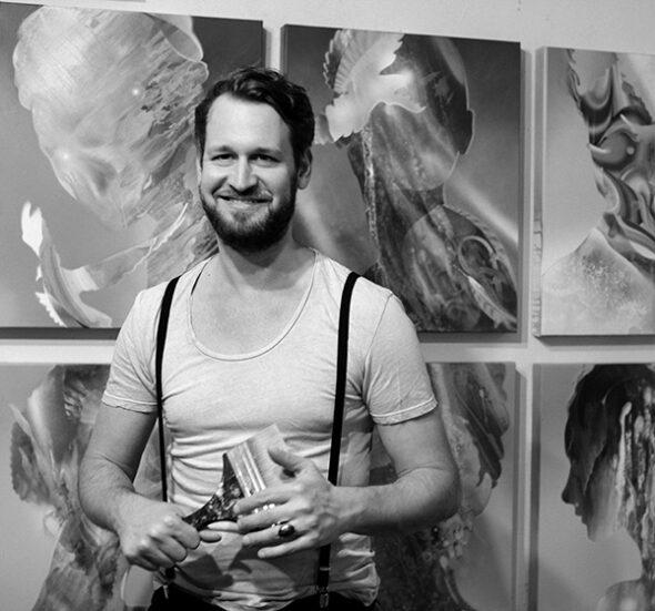 Acryl Malkurse in Hamburg mit Dennis Konstantin Bax Malschule