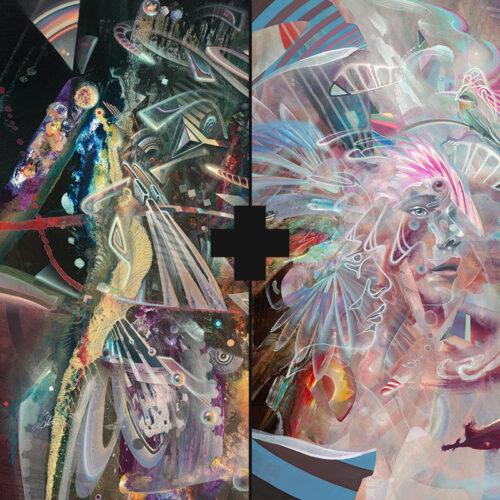 psychedlic art prints konstantin bax