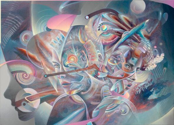 Konstantin BAX NOREST painting