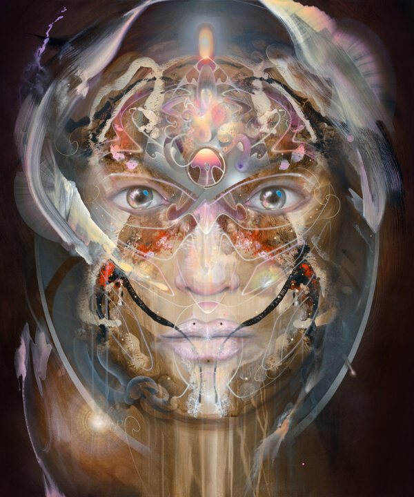 visionary art print psychedelic bax rest 2