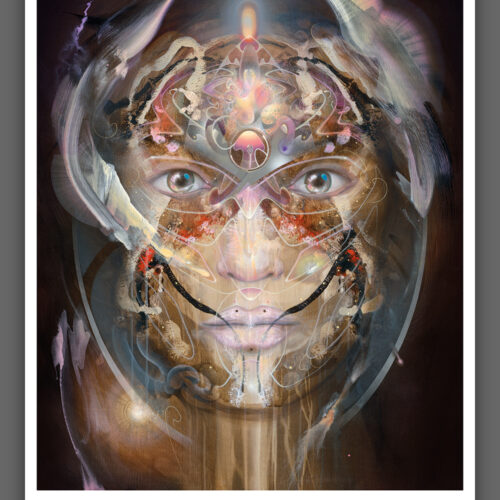 visionary art print psychedelic bax rest 3